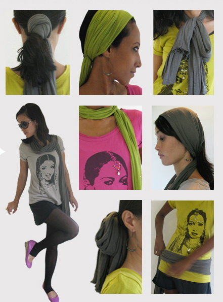 Get a taste of the Masala Tee Skinny Scarf  ebookmasalateecollection  How To Wear Thin Scarves Men